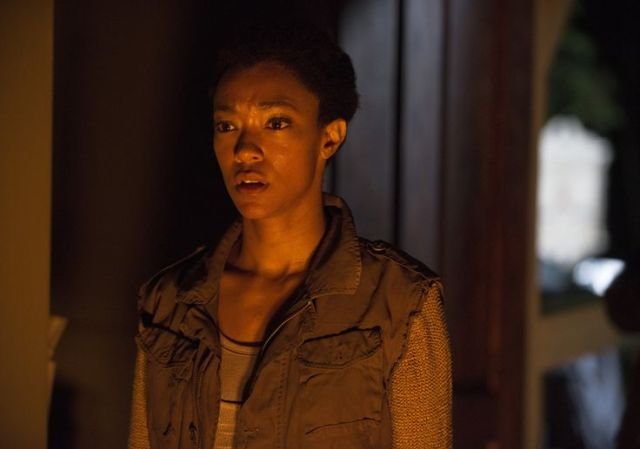 Sasha (Sonequa Martin-Green) in Episode 2 Photo by Gene Page/AMC