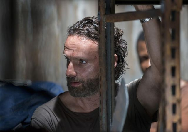 Rick Grimes (Andrew Lincoln) in Episode 2 Photo by Gene Page/AMC