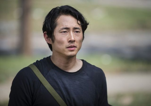 Glenn Rhee (Steven Yeun) in Episode 2 Photo by Gene Page/AMC