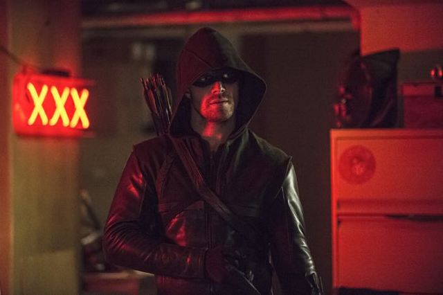 "Arrow -- ""The Brave and the Bold"" Pictured: Stephen Amell as The Arrow -- Photo: Cate Cameron/The CW -- © 2014 The CW Network, LLC. All Rights Reserved."
