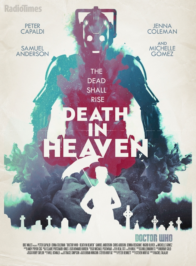 Doctor Who_Series 8_Episode 12_Death in Heaven_Retro Poster by Stuart Manning