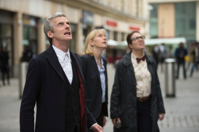 Doctor Who – Series 8 Episode 12 – Death in Heaven – PETER CAPALDI as The Doctor, JEMMA REDGRAVE as Kate Lethbridge-Stewart, INGRID OLIVER as Osgood – (c) BBC – Photo Adrian Rogers