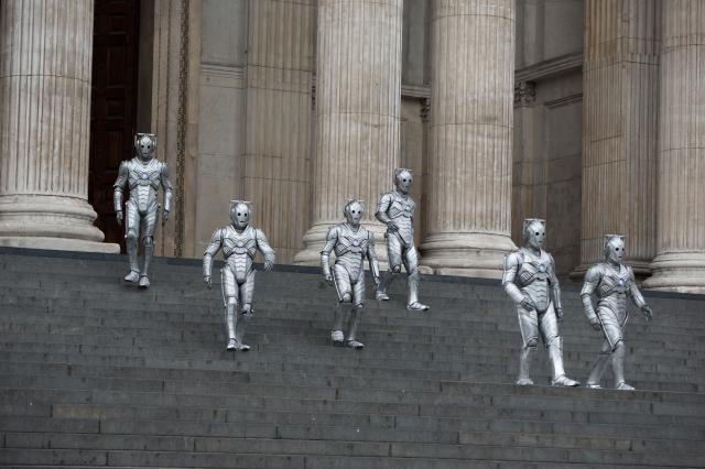 Doctor Who – Series 8 Episode 12 – Death in Heaven – Cybermen – (c) BBC – Photo Adrian Rogers