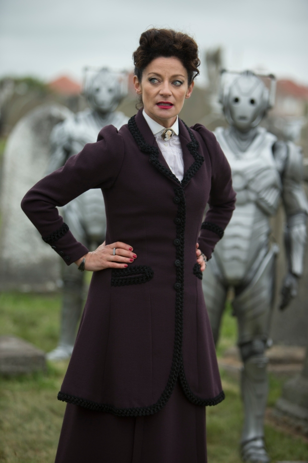 Doctor Who – Series 8 Episode 12 – Death in Heaven – MICHELLE GOMEZ as Missy and Cybermen – (c) BBC – Photo Adrian Rogers