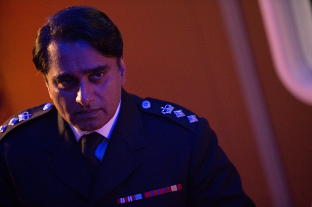 Doctor Who – Series 8 Episode 12 – Death in Heaven – SANJEEV BHASKAR as Colonel Ahmed – (c) BBC – Photo Adrian Rogers
