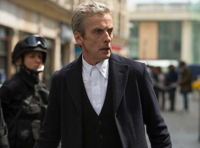 Doctor Who – Series 8 Episode 12 – Death in Heaven – MICHELLE GOMEZ as Missy, PETER CAPALDI as The Doctor – (c) BBC – Photo Adrian Rogers