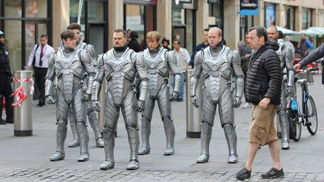 The Cybermen are put through their paces…