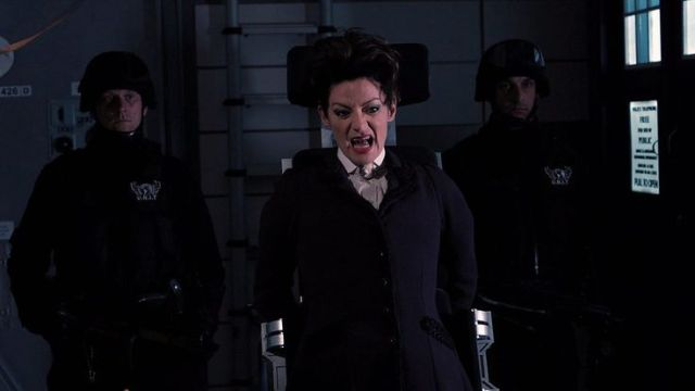 Missy - the Master regenerated into female form.