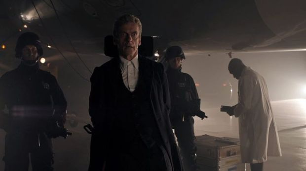 The Doctor finds himself handcuffed due to UNIT protocols.