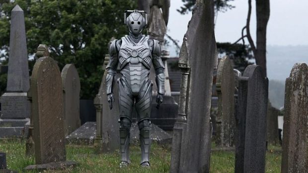 During Earth's darkest hour, a Cyberman lends a helping hand.