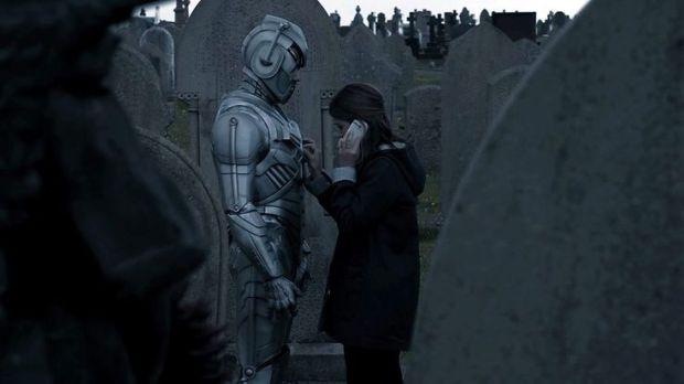 Clara works on Danny's emotion inhibitor.