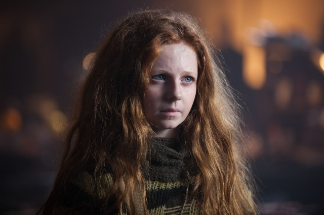 "GOTHAM: Clare Foley as Ivy Pepper in the ""Lovecraft"" episode of GOTHAM airing Monday, Nov. 24 (8:00-9:00 PM ET/PT) on FOX. ©2014 Fox Broadcasting Co. Cr: Jessica Miglio/FOX"