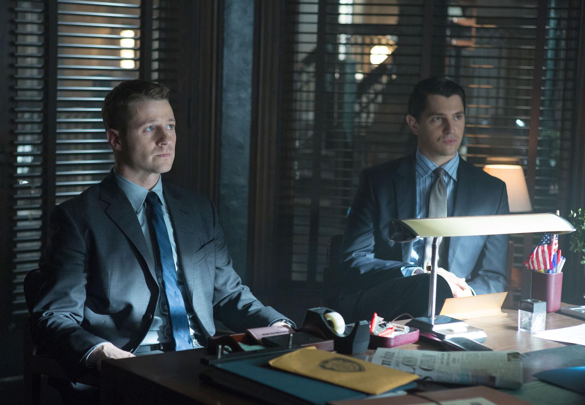 Gotham: Jim Gordon and Harvey Dent