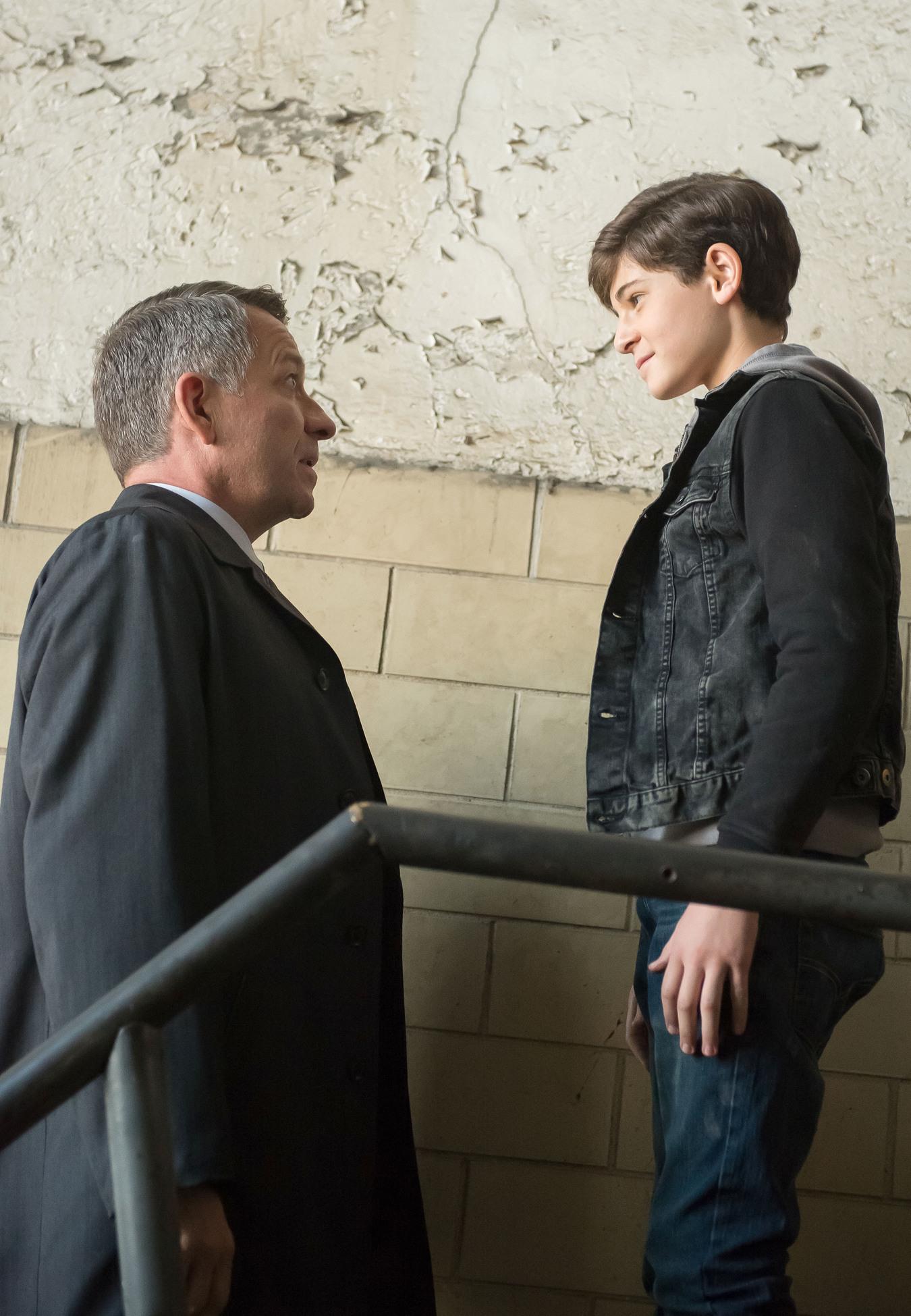 Gotham: Alfred Pennyworth and Bruce Wayne