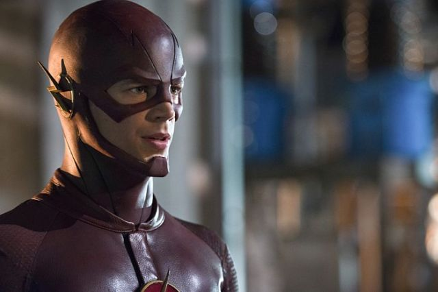 """The Flash -- """"Power Outage"""" Pictured: Grant Gustin as The Flash -- Photo: Diyah Pera/The CW -- © 2014 The CW Network, LLC. All rights reserved."""
