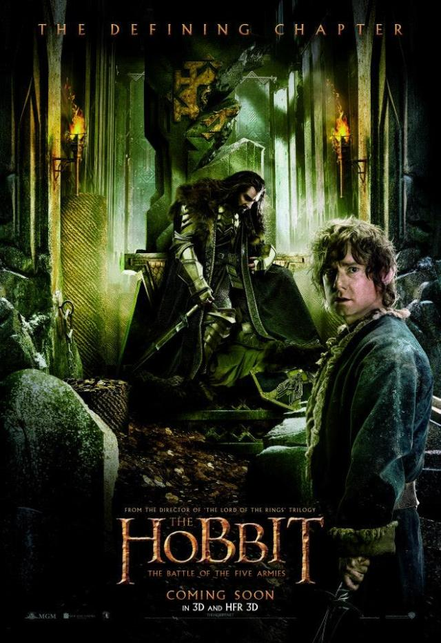 The Hobbit_The Battle of the Five Armies_Belgian Posters (1)