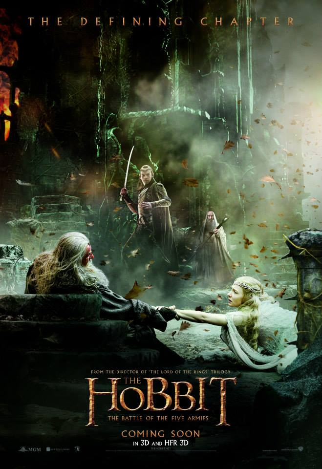 5 New 'The Hobbit: The Battle of the Five Armies' Posters ...