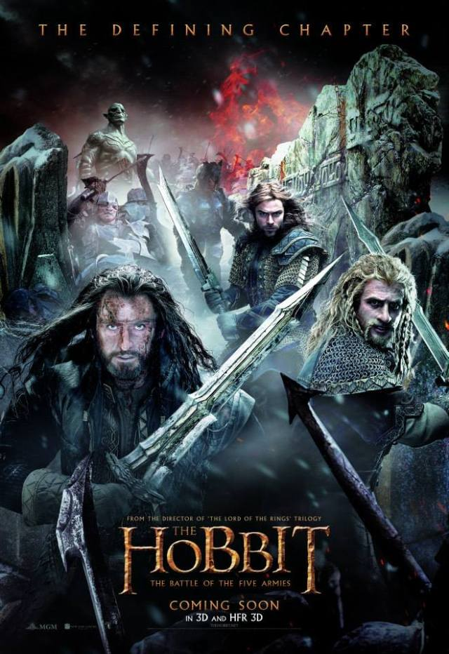 The Hobbit_The Battle of the Five Armies_Belgian Posters
