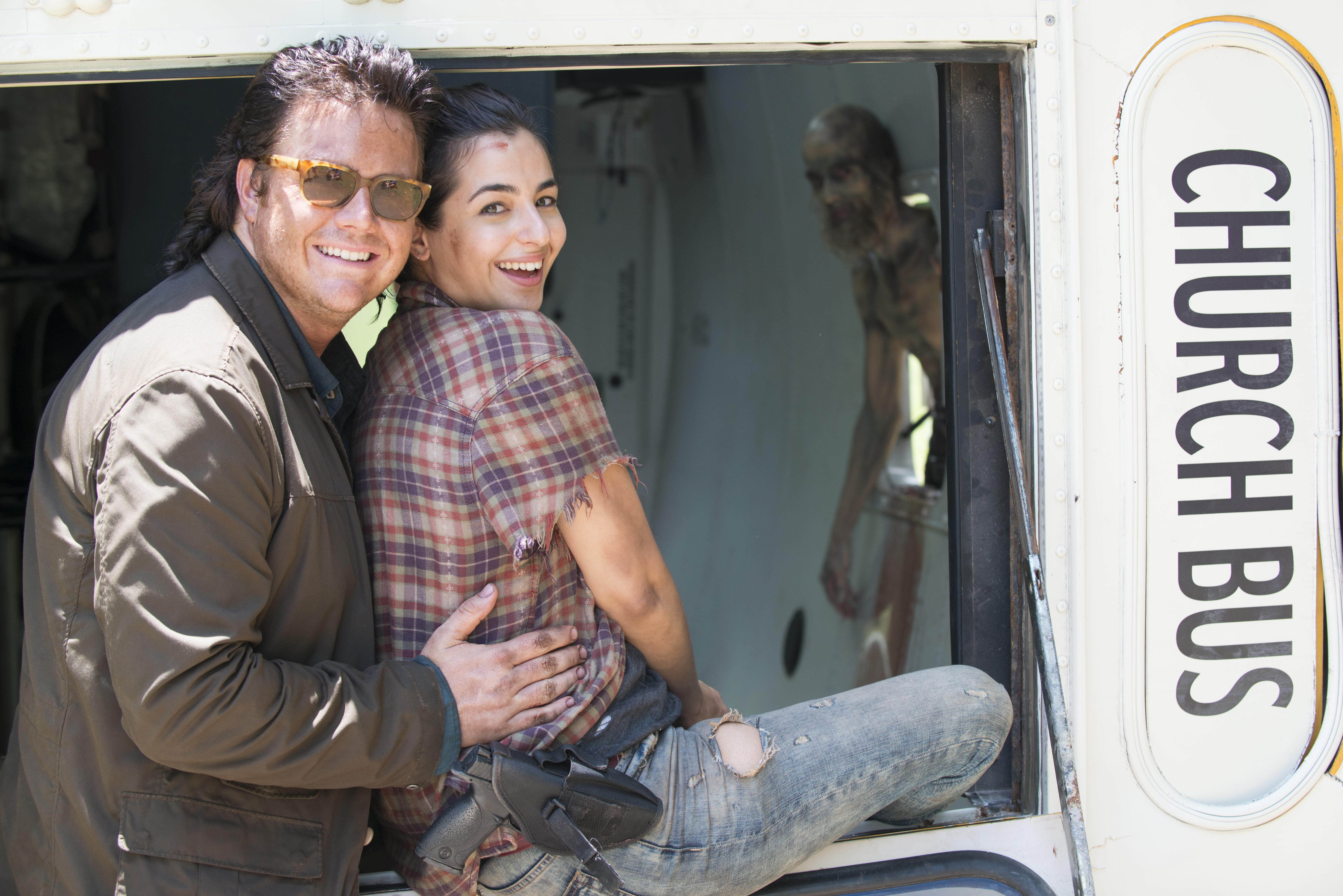 The Walking Dead Season 5 13 Behind The Scenes Stills