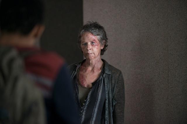 Melissa McBride as Carol Peletier - The Walking Dead _ Season 5, Episode 6 - Photo Credit: Gene Page/AMC