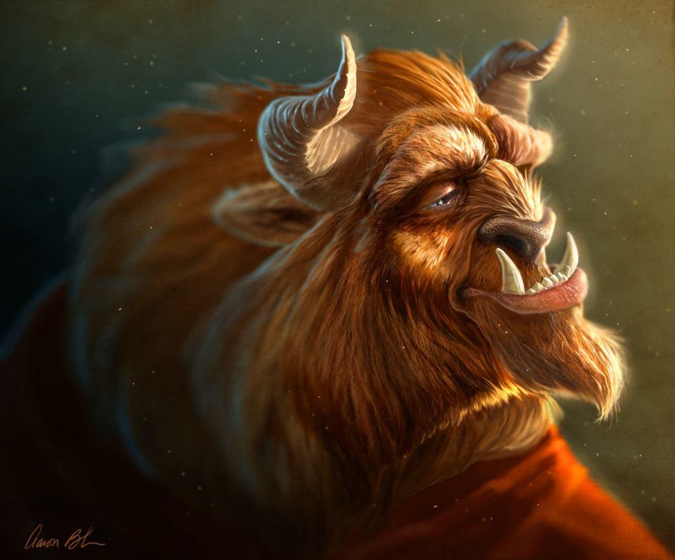 Beast by Aaron Blaise