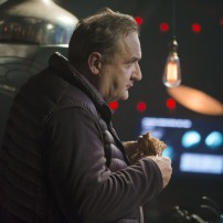 Programme Name: Doctor Who Christmas Special - TX: 25/12/2014 - Episode: Last Christmas, written by Steven Moffat (No. 1) - Picture Shows: Professor Albert (MICHAEL TROUGHTON) - (C) BBC - Photographer: Adrian Rogers