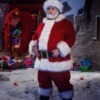 Programme Name: Doctor Who Christmas Special - TX: 25/12/2014 - Episode: Last Christmas, written by Steven Moffat (No. 1) - Picture Shows: Santa Claus (NICK FROST) - (C) BBC - Photographer: David Venni