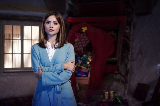 Programme Name: Doctor Who Christmas Special - TX: 25/12/2014 - Episode: Last Christmas, written by Steven Moffat (No. 1) - Picture Shows: Clara (JENNA COLEMAN) - (C) BBC - Photographer: David Venni