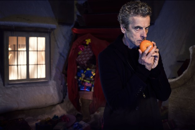 Programme Name: Doctor Who Christmas Special - TX: 25/12/2014 - Episode: Last Christmas, written by Steven Moffat (No. 1) - Picture Shows: Doctor Who (PETER CAPALDI) - (C) BBC - Photographer: David Venni