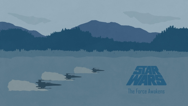 Star Wars: The Force Awakens by landlcreations
