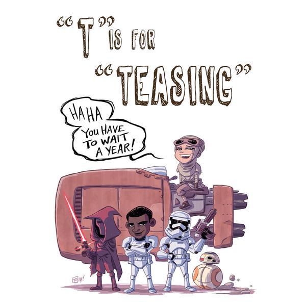 Star Wars: The Force Awakens by Otis Frampton