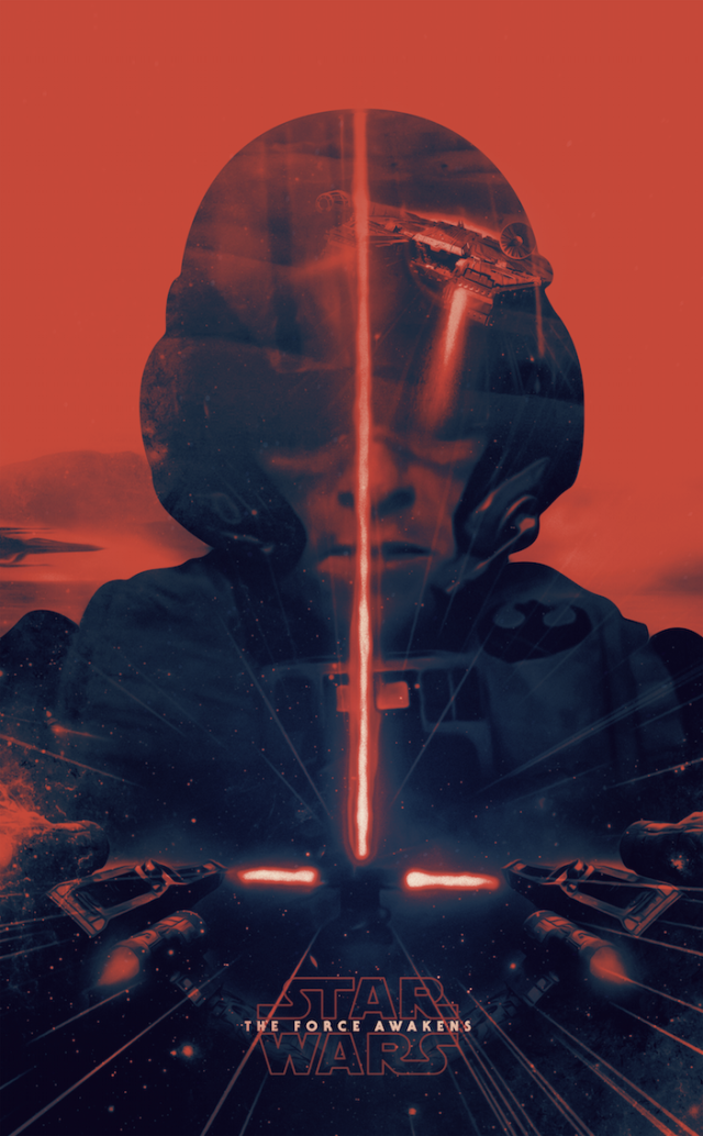 Star Wars: The Force Awakens Tribute by Patrick Seymour