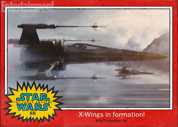 Star Wars_The Force Awakens_X-Wings