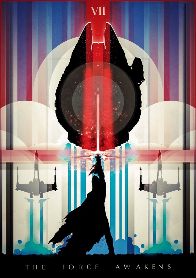Star Wars: The Force Awakens by Lazare Gvimradze