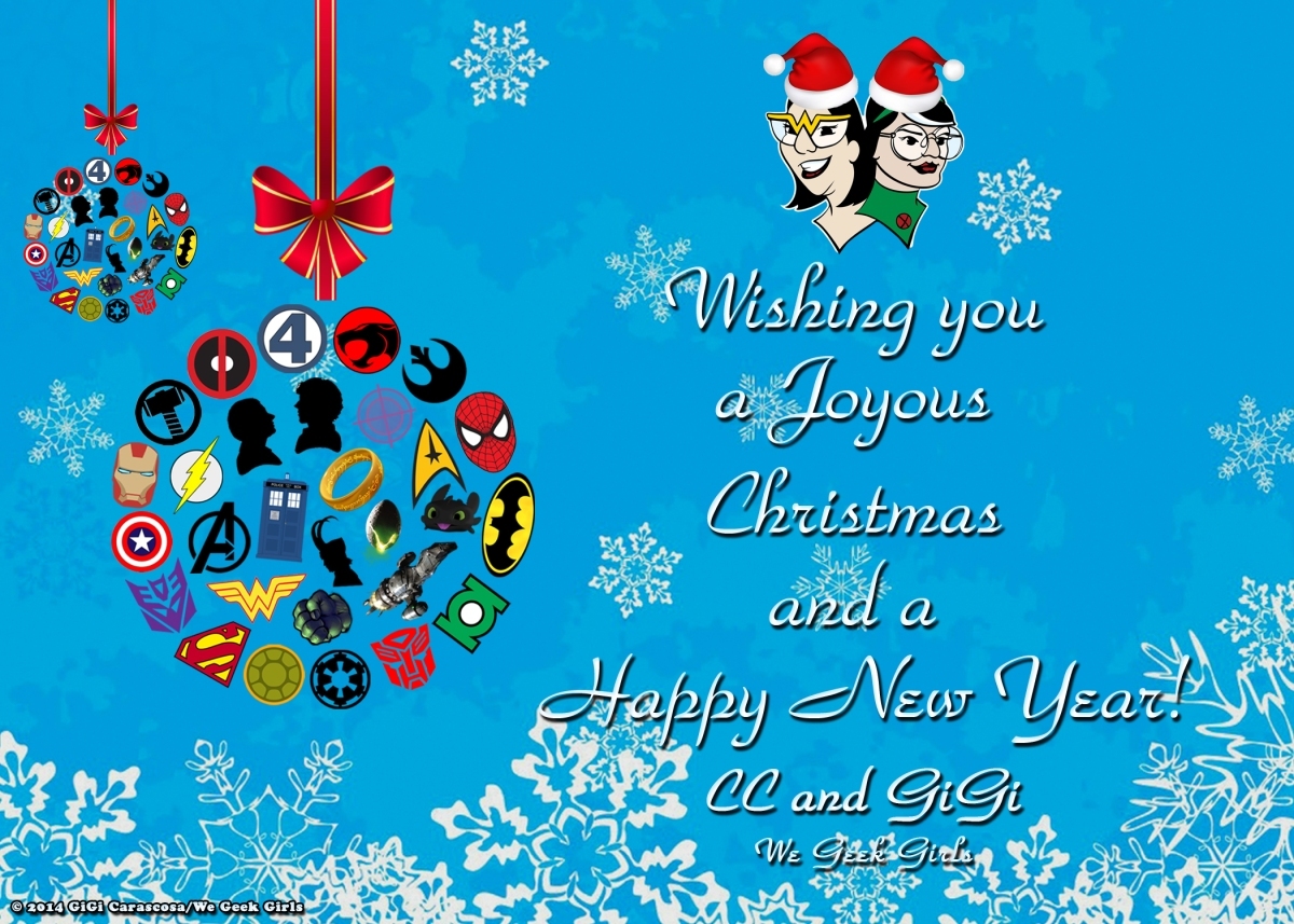 Merry Christmas To All Our Geeky Peeps We Geek Girls