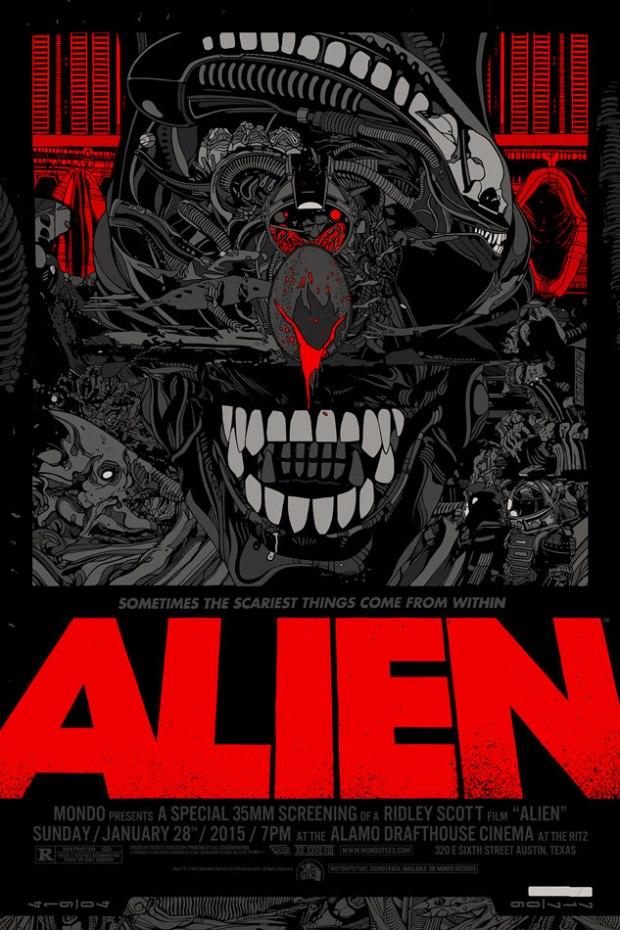 Alien by Tyler Stout