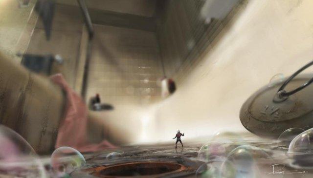 Ant-Man_Concept Art by Rodney Fuentebella