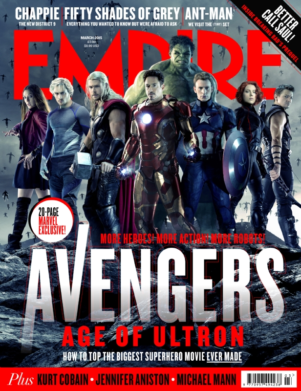 Avengers_Age of Ultron_Empire Magazine Cover