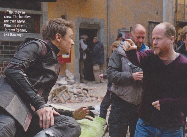 Avengers_Age of Ultron_Empire Magazine_Jeremy Renner and Whedon