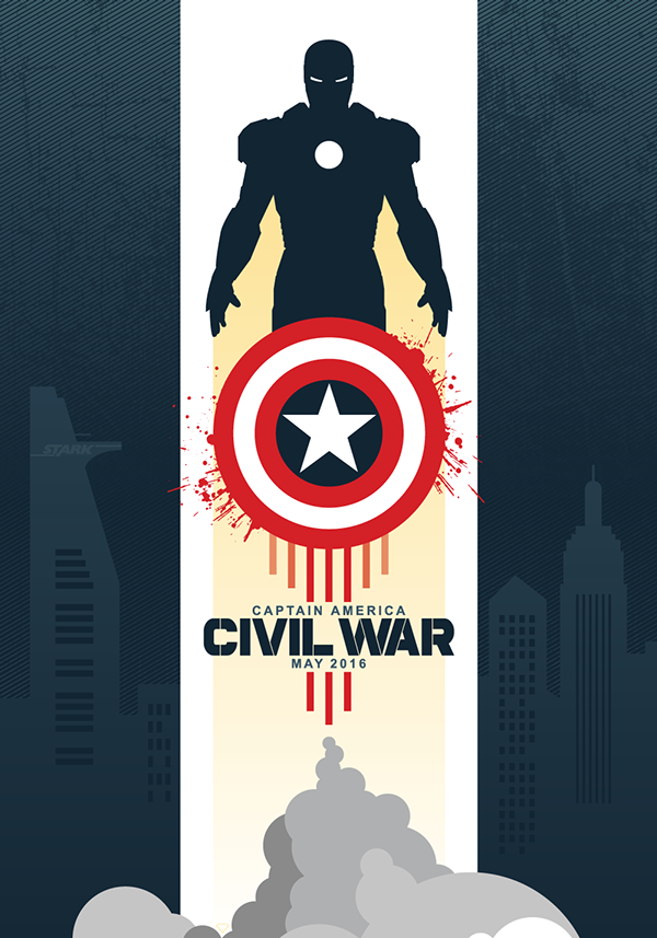 Captain America_Civil War by Icons and Superheroe_Maxime Crouzet
