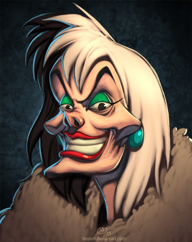 disney_villains_cruella_de_vil_by_booom-d6esezd