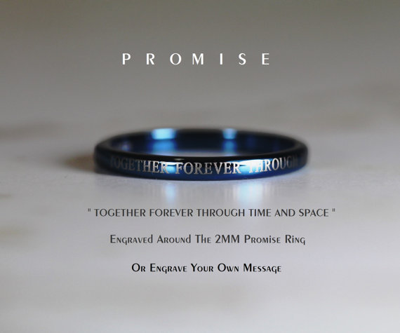 Stunning Doctor Who Wedding Ring Set We Geek Girls