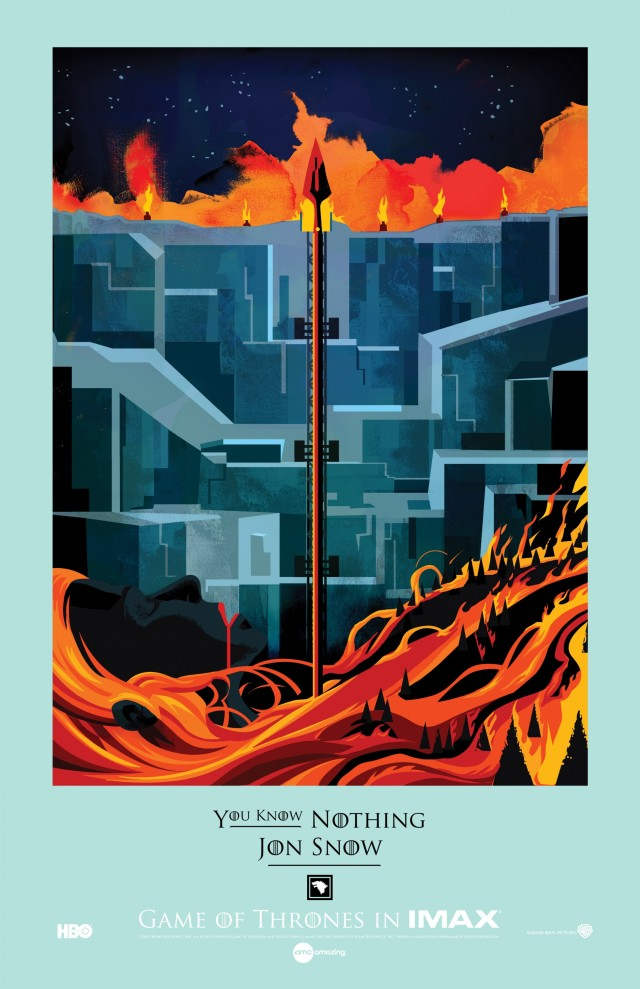 Game of Thrones_Season 4_Episode 9_The Watchers of the Wall_IMAX Poster2