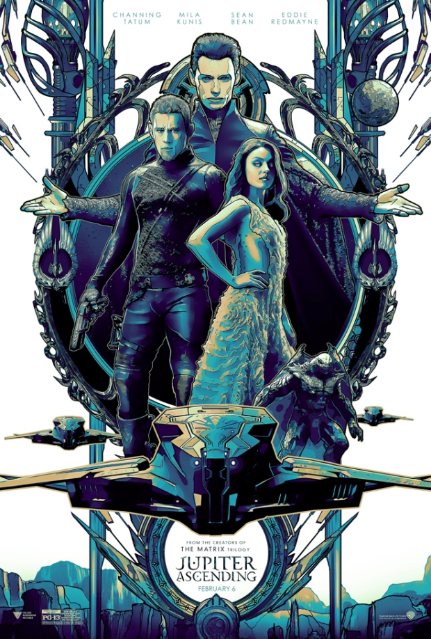 This Art Machine image takes its look from the bold color schemes the Wachowskis use in their films. - ART MACHINE