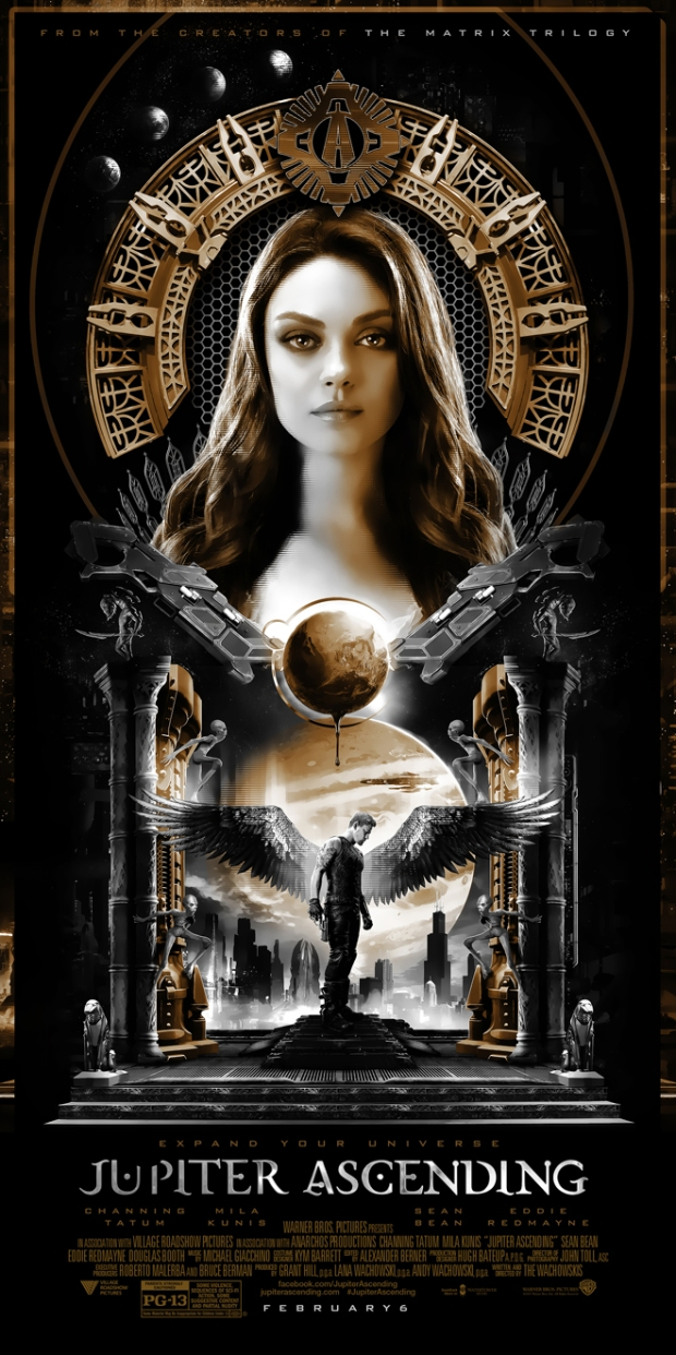 The look of this poster is so very Metropolis (in the best way possible). - ART MACHINE