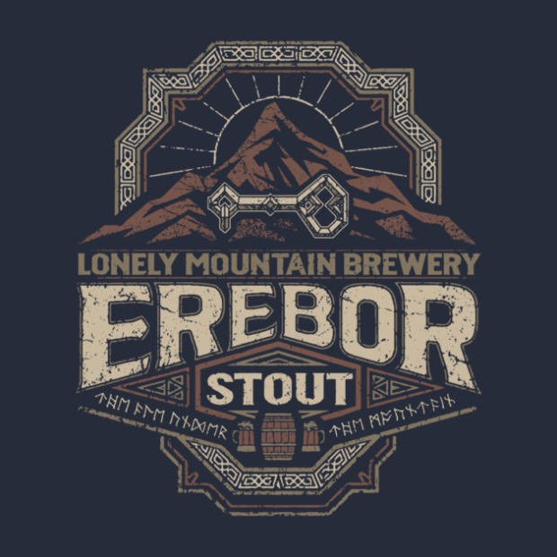 Middle Earth Brews_Erebor Stout_By Cory Freeman Design