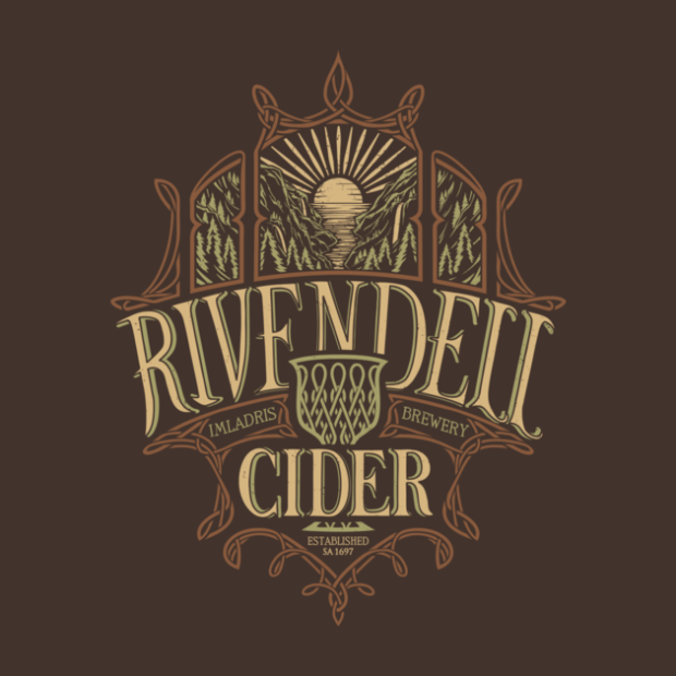 Middle Earth Brews_Rivendell Cider_By Cory Freeman Design