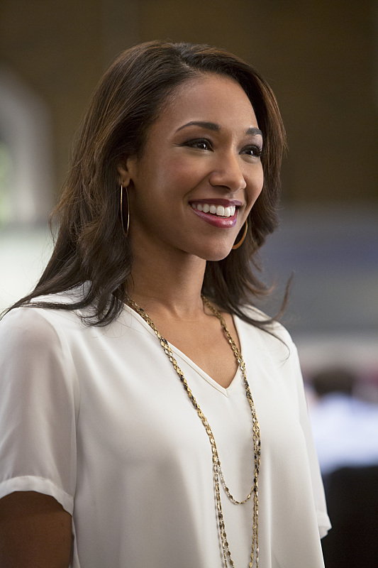 """The Flash -- """"Crazy for You"""" -- Image FLA112A_0088b -- Pictured: Candice Patton as Iris West -- Photo: Katie Yu/The CW -- © 2015 The CW Network, LLC. All rights reserved."""