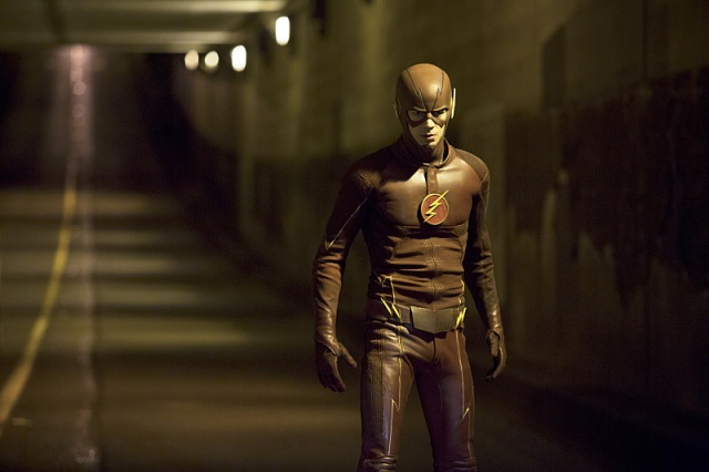 """The Flash -- """"Crazy for You"""" -- Image FLA112B_0149b -- Pictured: Grant Gustin as The Flash -- Photo: Katie Yu/The CW -- © 2015 The CW Network, LLC. All rights reserved."""