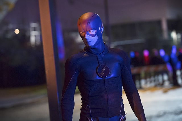 """The Flash -- """"Crazy for You"""" -- Image FLA112A_0331b -- Pictured: Grant Gustin as The Flash -- Photo: Katie Yu/The CW -- © 2015 The CW Network, LLC. All rights reserved."""
